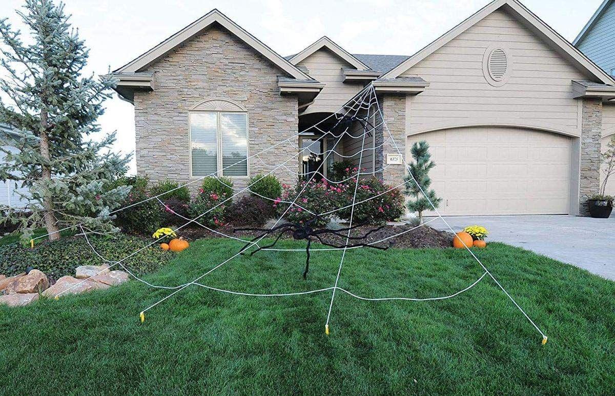 30 Best Outdoor Halloween Decoration Ideas , Creative