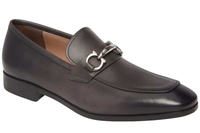 891471c71a16c Salvatore Ferragamo Benford Rounded Bit Loafer