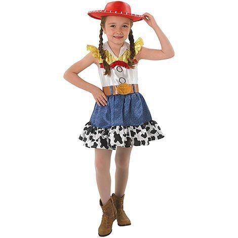 Toy Story 4 Halloween Costumes.Jessie Costume Kid