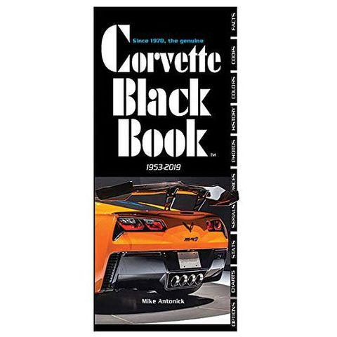 Black Book Car >> These Are The 8 Best Books About The Chevy Corvette
