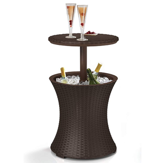 Outdoor Patio Cooler Table