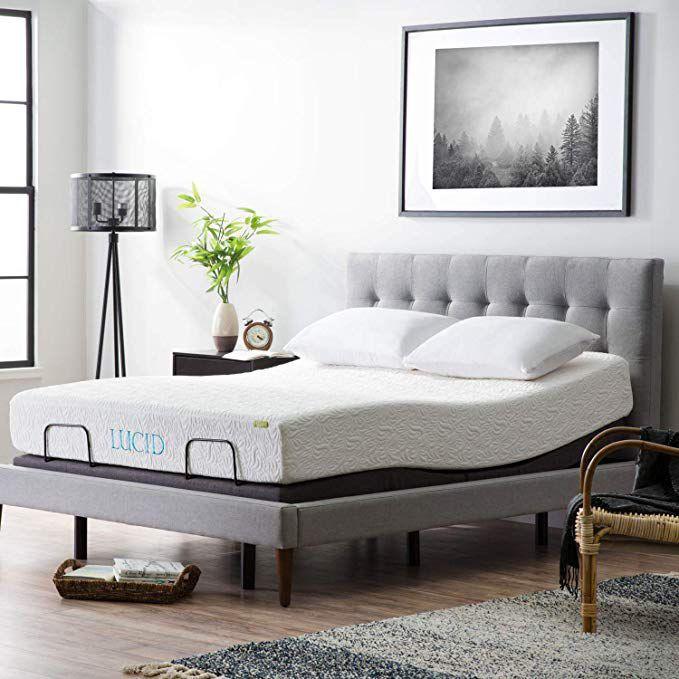 Adjustable Bed Base >> Lucid L300 Adjustable Bed Base