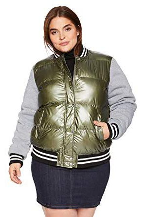 9db76a684 15 Best Plus Size Bomber Jackets for Women 2019