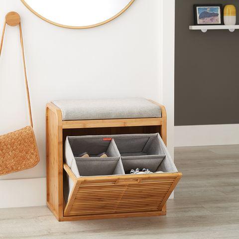 Superb 15 Best Shoe Storage Ideas Genius Ways To Diy Shoe Organizers Ibusinesslaw Wood Chair Design Ideas Ibusinesslaworg