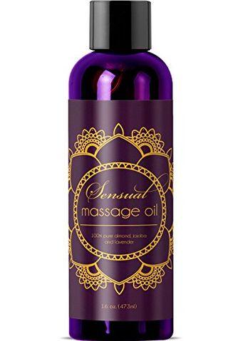 Aceite de masaje con lavanda y jojoba
