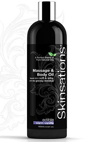 Aceite de masaje de vainilla