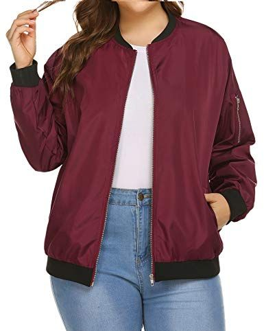 8f741ac7c 15 Best Plus Size Bomber Jackets for Women 2019
