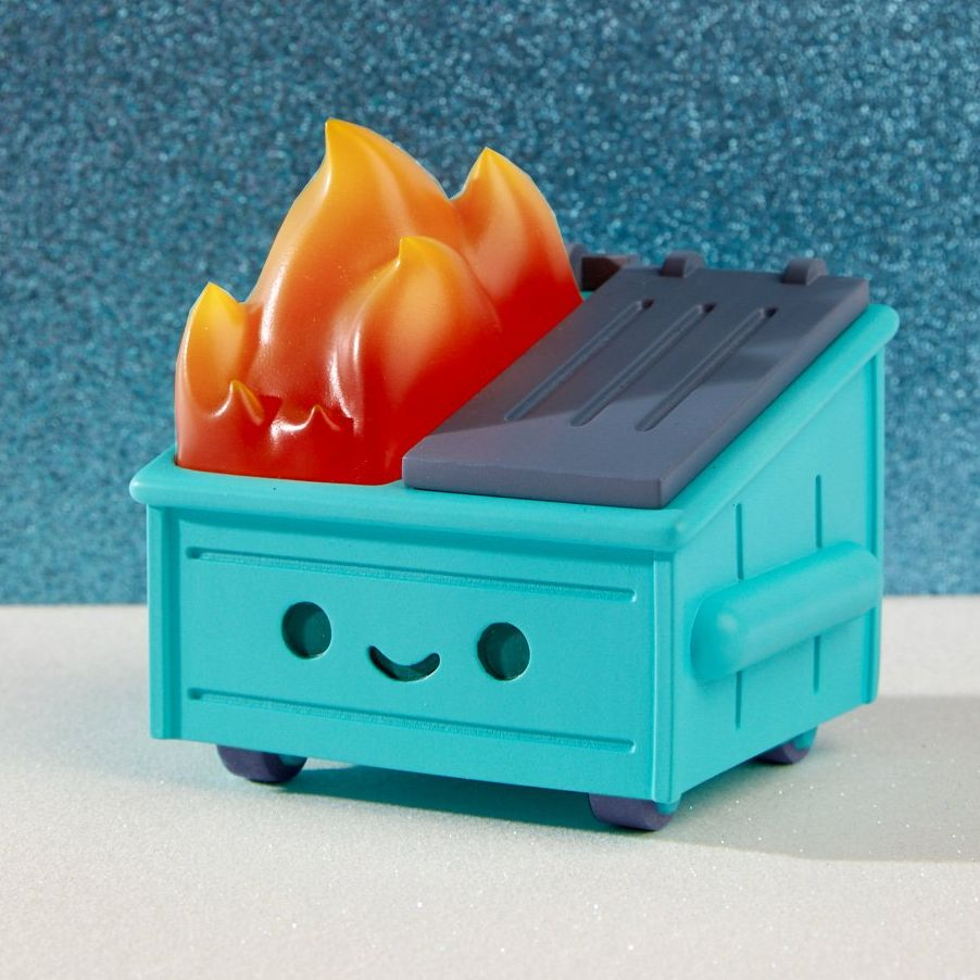 100 Soft S Dumpster Fire Toys Sold Out After Comic Con Debut