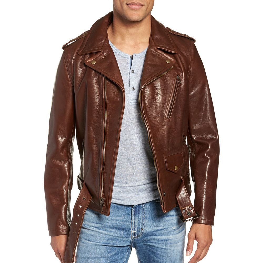 1311b8329 Schott NYC '50s Oil-Tanned Cowhide Leather Moto Jacket
