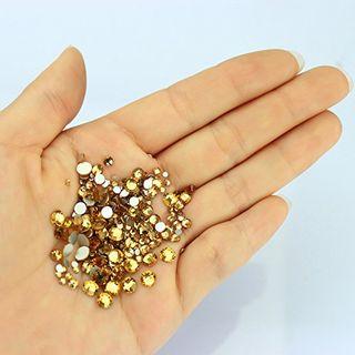 Resin Crystal Round Rhinestone Craft Gems