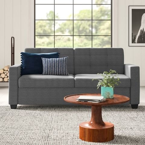 Astounding Tuck These Sleeper Sofas Into Any Small Space Theyellowbook Wood Chair Design Ideas Theyellowbookinfo