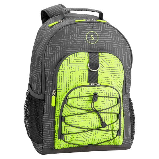 1840a9002a9d Gear-Up Circuit Neon Yellow Reflective Backpack