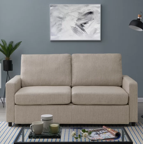 Fantastic Tuck These Sleeper Sofas Into Any Small Space Evergreenethics Interior Chair Design Evergreenethicsorg