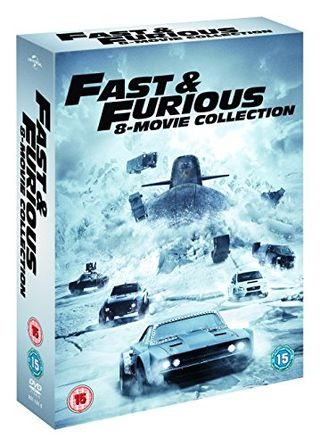 Fast & Furious 8-Film Collection DVD (1-8 Box Set) [2017]