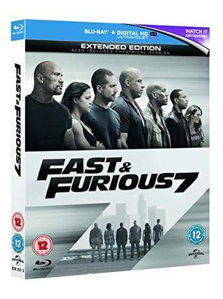 Fast & Furious 7 [Blu-ray] [2017] [Region Free]
