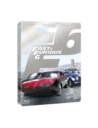 Fast & Furious 6 (Limited Edition Steelbook) [Blu-ray] [2013] [Region Free]