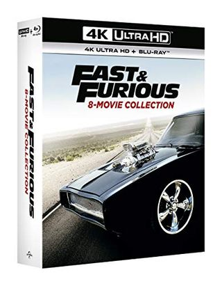 Fast & Furious 1-8 (4K + Blu-ray) [2019] [Region Free]