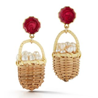 Baskets of Pearls Earrings