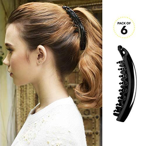 Great Hair Accessory New Round Banana Clips Great Colors Banana Clips For Hair