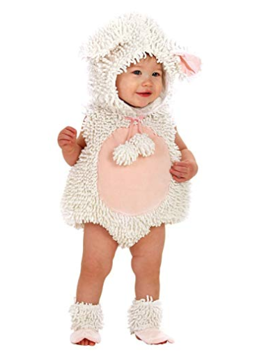 Baby Halloween Costumes Boy And Girl.Little Lamb