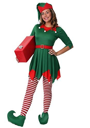 best christmas characters to dress up as women's plus size santa's helper costume