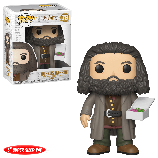 Harry Potter: Hagrid with Cake 6-Inch Pop! Vinyl Figure