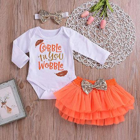 Kids Fall Shirts Adorable Gifts Thanksgiving Girl Girls Fall Clothes Fall Baby Girl Thanksgiving Baby Outfit Thanksgiving Girl Outfit