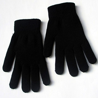 Classic Black Gloves