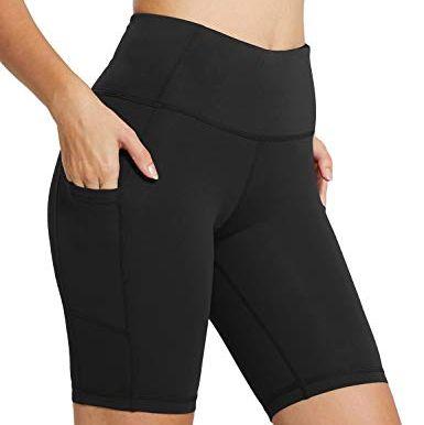 b4a5398522b8f Baleaf Women's High Waist Yoga Shorts Review - Baleaf Bike Shorts