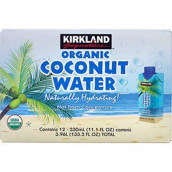 Kirkland Signature Organic Coconut Water