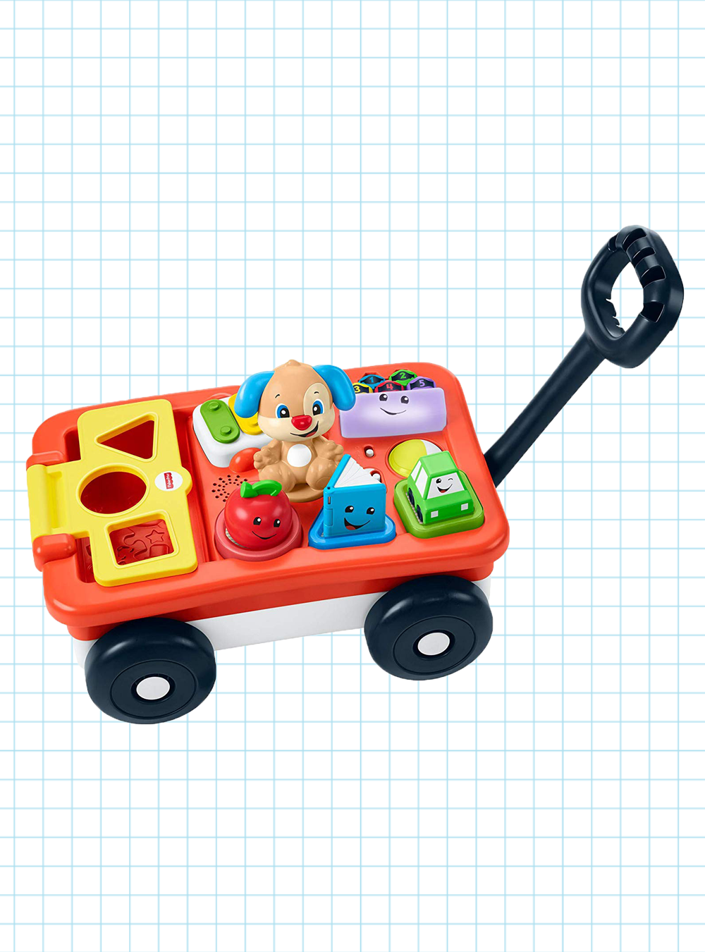 laugh & learn pull & play learning wagon