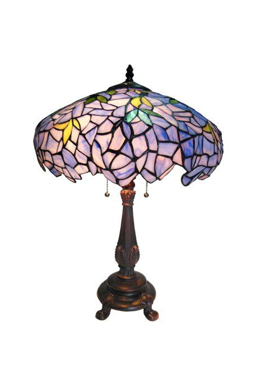Chloe Lighting Tiffany Wisteria Lamp