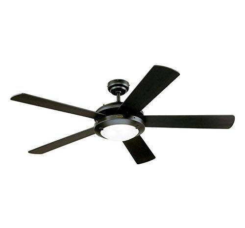 "8 Blade 62/"" Bronze LED Indoor Ceiling Fan with Light Kit Reversible Blades"