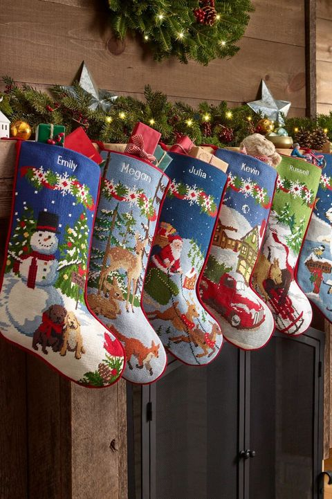 512b03cfac8a3 20 Personalized Christmas Stockings - Embroidered and Monogrammed ...
