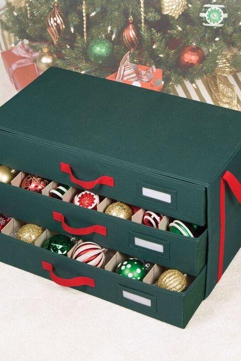 15 Best Christmas Ornament Storage Ideas Easy Holiday Ornament Storage Hacks