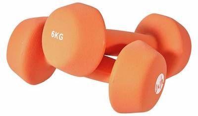 Women's Health Neoprene Dumbbell Set- 2 x 6kg