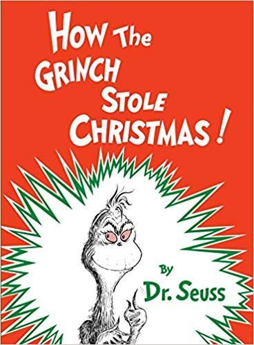 Christmas Books.How The Grinch Stole Christmas
