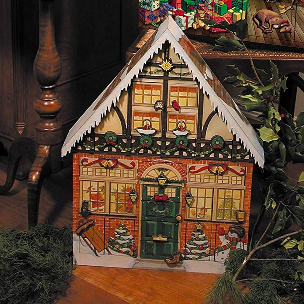 Christmas Vacation Advent House Calendar.Christmas House Advent Calendar