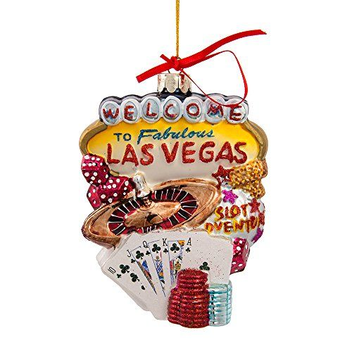 Las Vegas Gl Cityscape Ornament