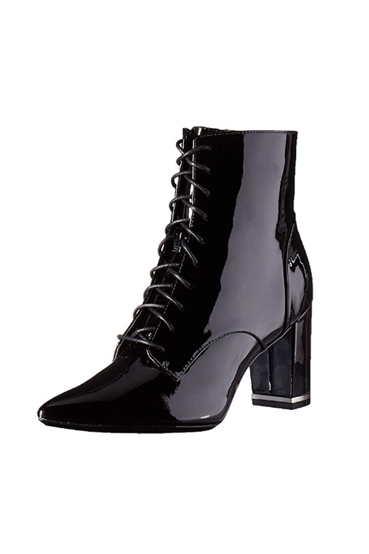Esma Ankle Boot, Black Patent