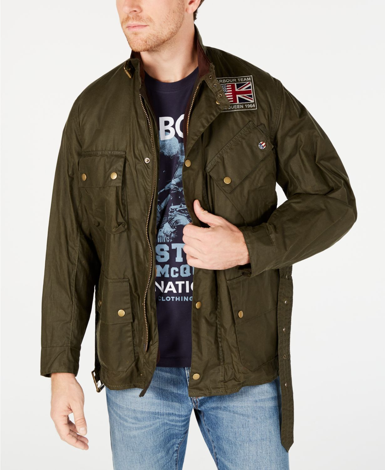biggest discount best sale good Barbour Launches New Collection Inspired By Steve McQueen