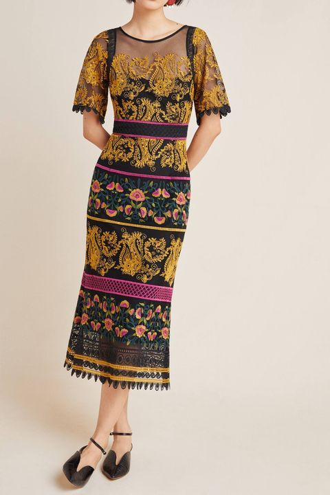 20 stylish fall wedding guest dresses 2019  what to wear