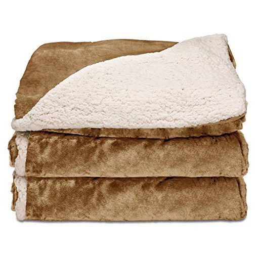 Reversible Heated Throw Blanket