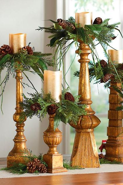 Christmas Candle Rings.Best Christmas Candle Rings Gorgeous Holiday Candle Rings
