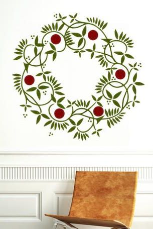 17 Best Christmas Wall Decals Simple And Easy Holiday Decals To Try