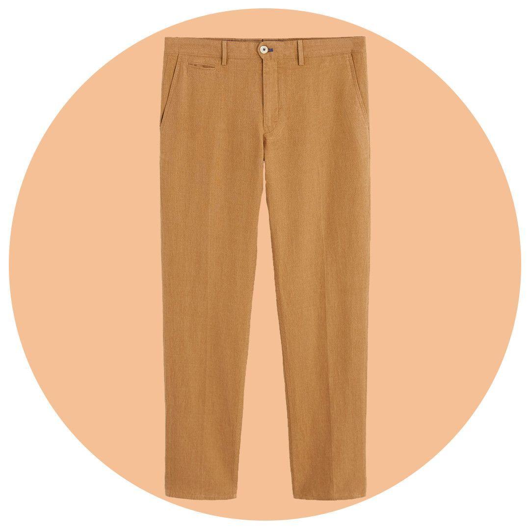 Dwayne The Rock Johnson Wears $35 Mango Linen Trousers