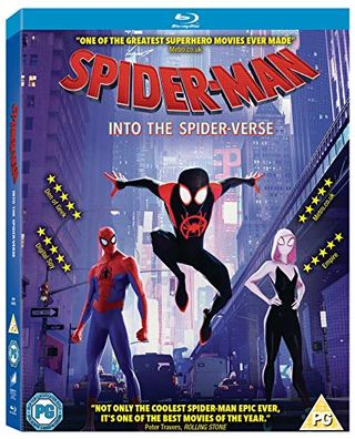 Spider-Man nel mondo dei ragni [Blu-ray] [2018] [Region Free]