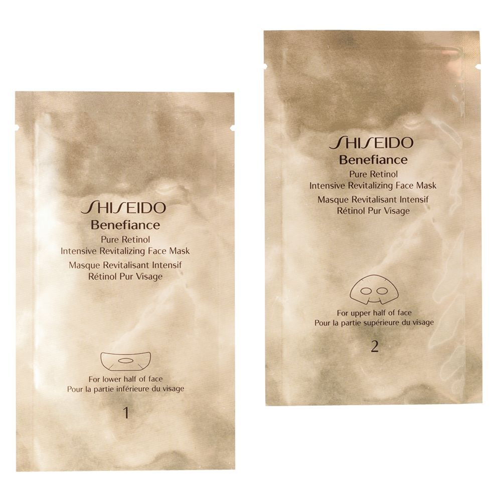 Benefiance Pure Retinol Intensive Revitalizing Face Mask x 4