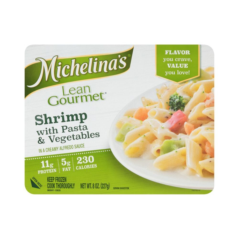 Michelina's Shrimp with Pasta and Vegetables