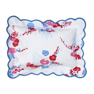 Demoiselles Red/Blue Elbow Sham